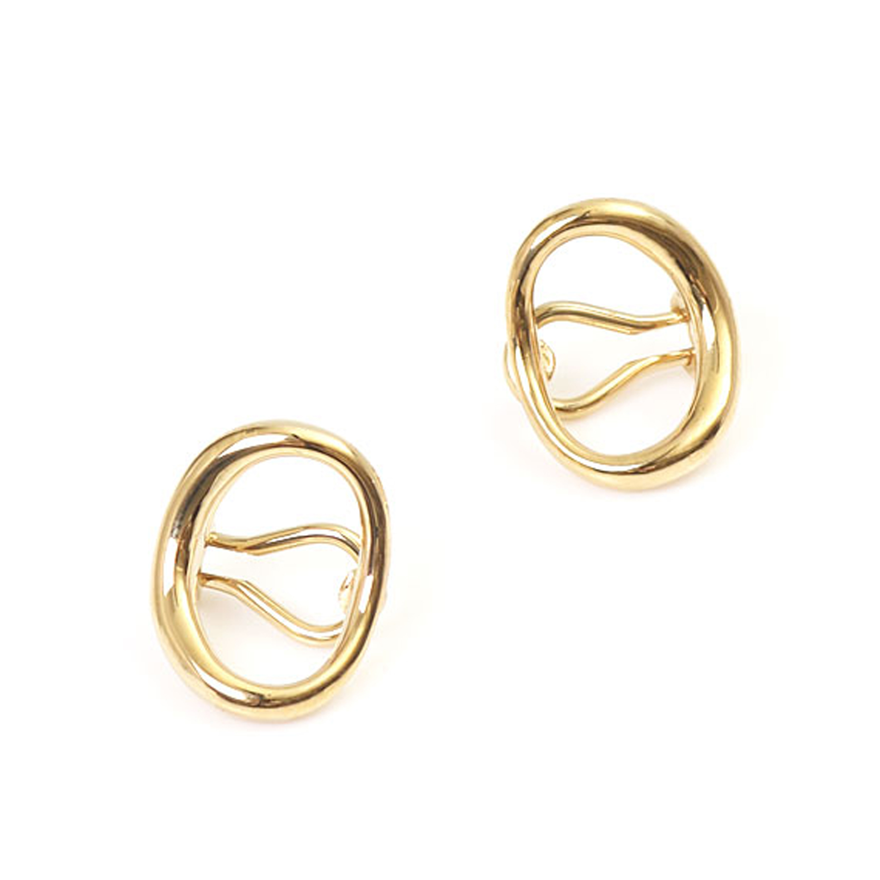 Charlotte Chesnais     Naho earrings   Yellow