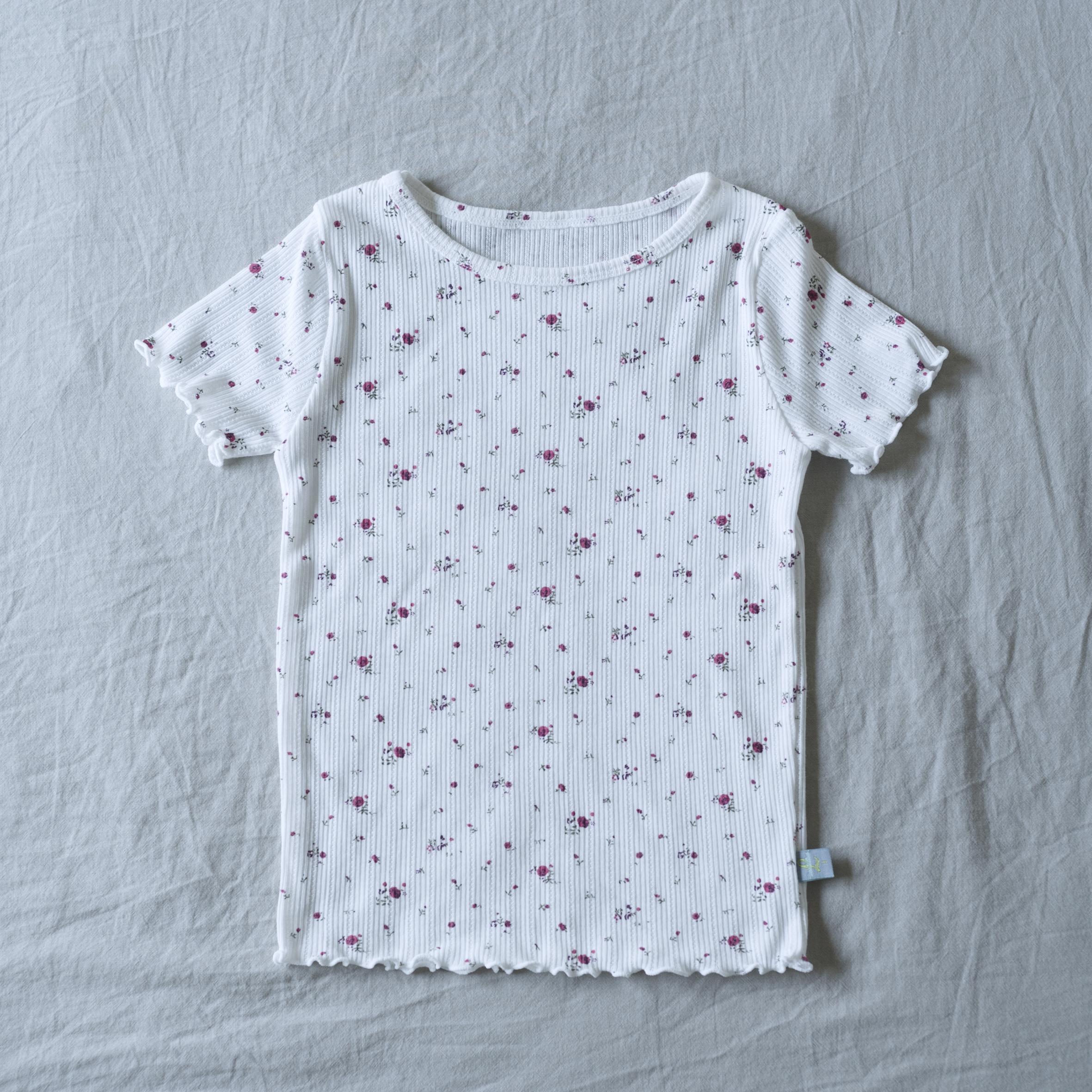 flower waffle pajamas