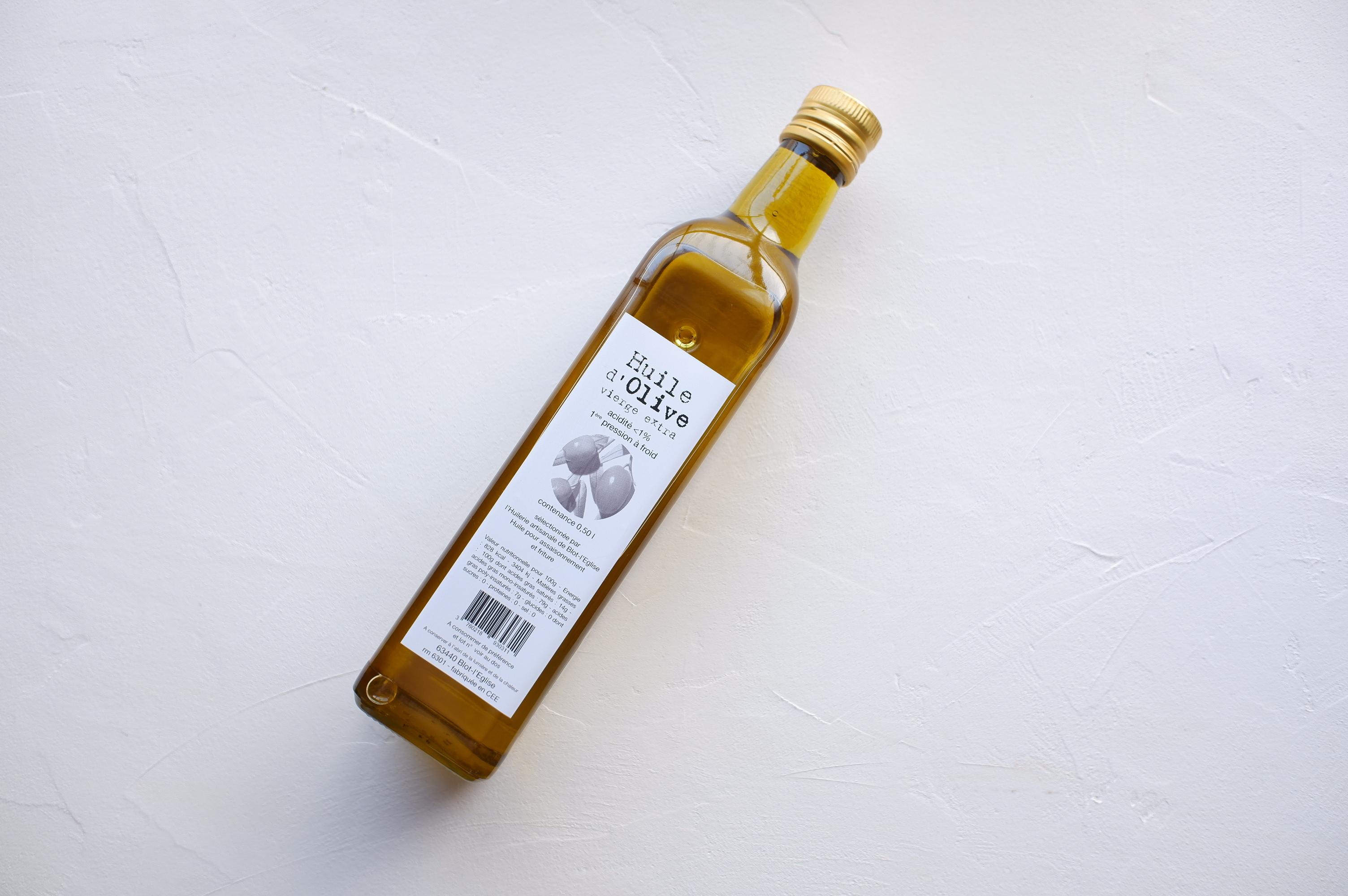 Huilerie de Blot(ユイルリー・ドゥ・ブロ) EXVオリーブオイル 500ml