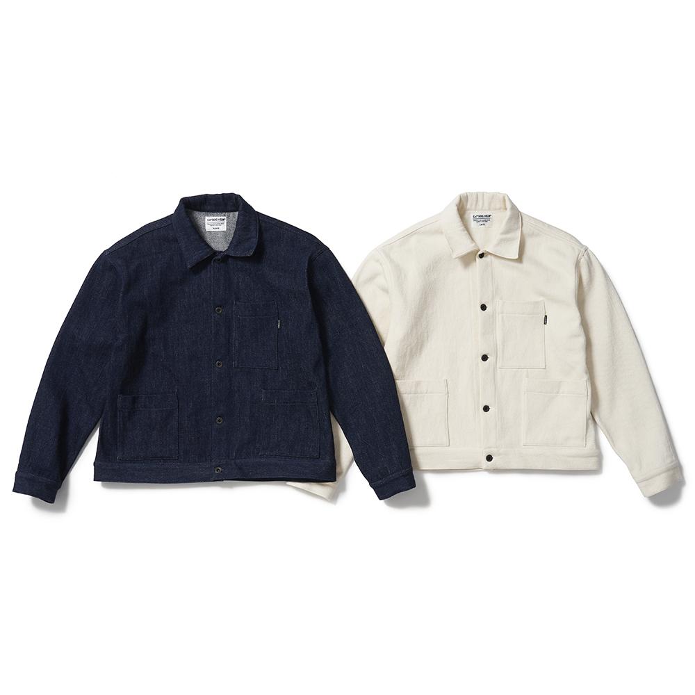 CAPTAINS HELM #Loose Denim Jacket