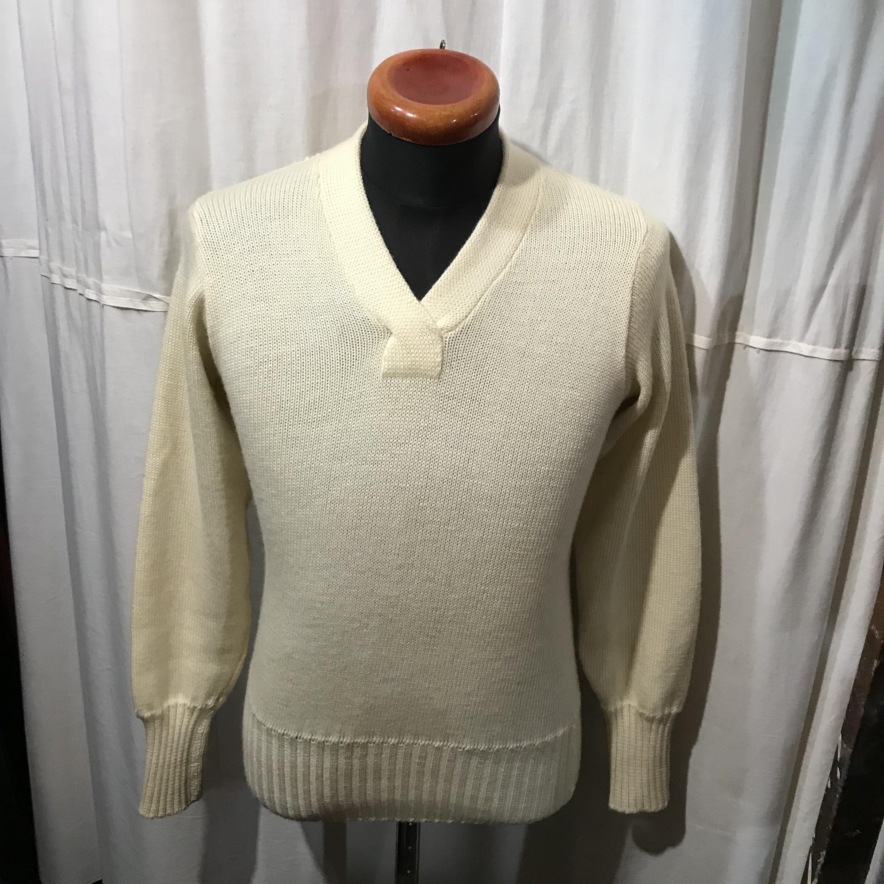 vintage VAN ウールセーター メンズS