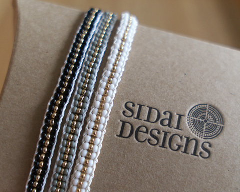 SIDAI DESIGNS シダイデザインズ Stripe Warrior Wrap Bracelet