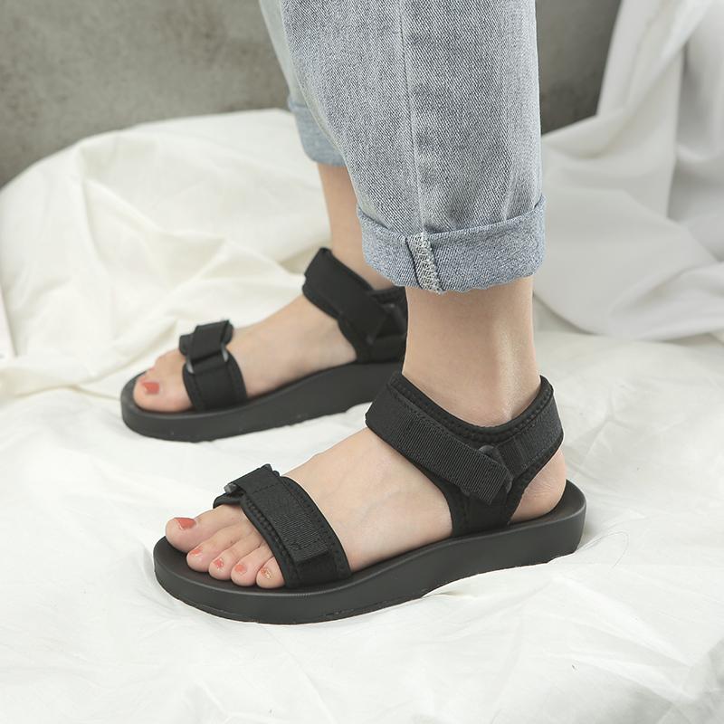 【shoes】ファッション無地合わせやすいサンダル22126035