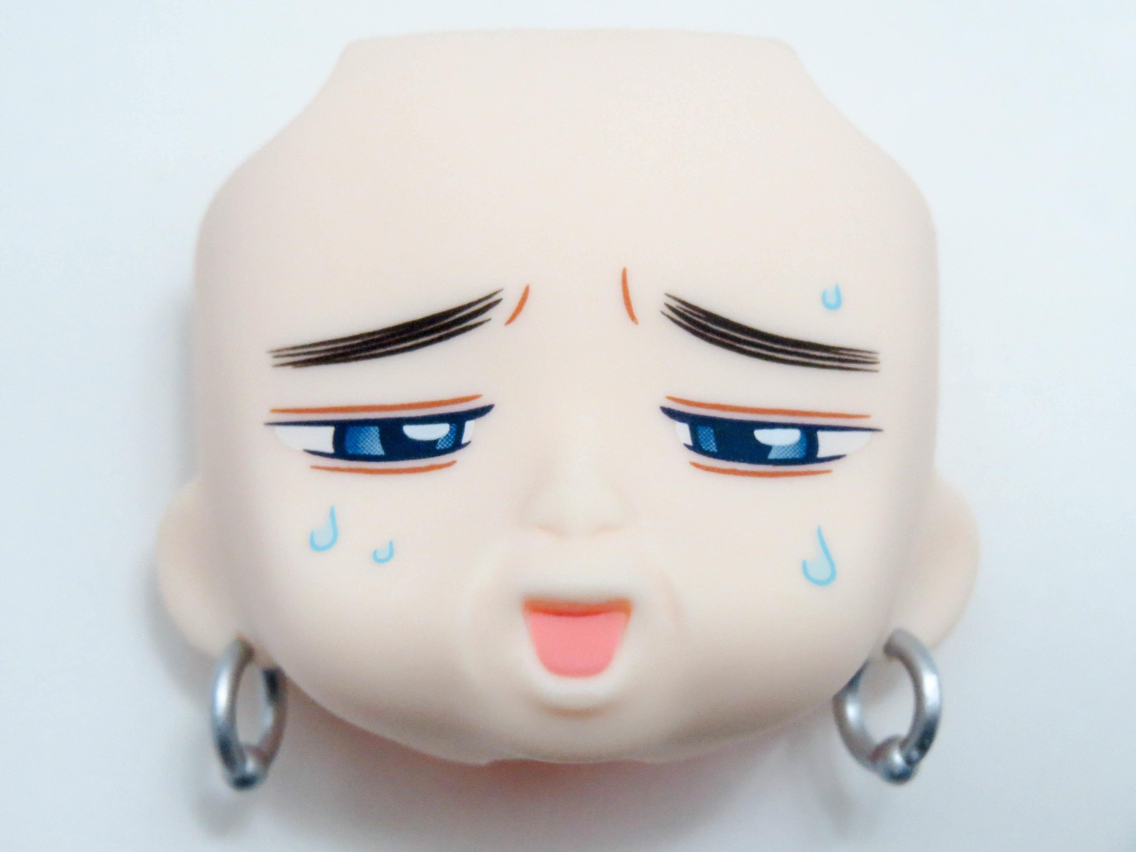 【SALE】【902】 アシリパ 顔パーツ ハフハフ顔 ねんどろいど