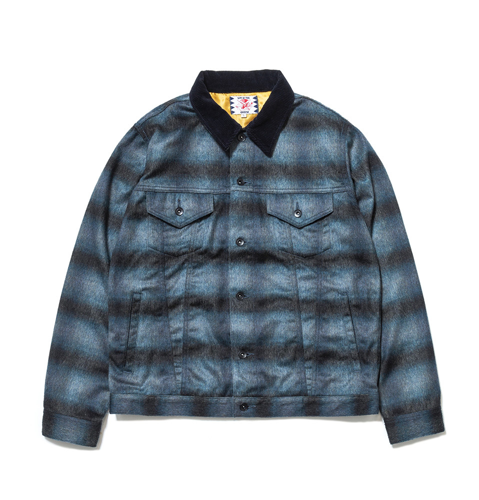 【SON OF THE CHEESE】BUFF JKT(NAVY)