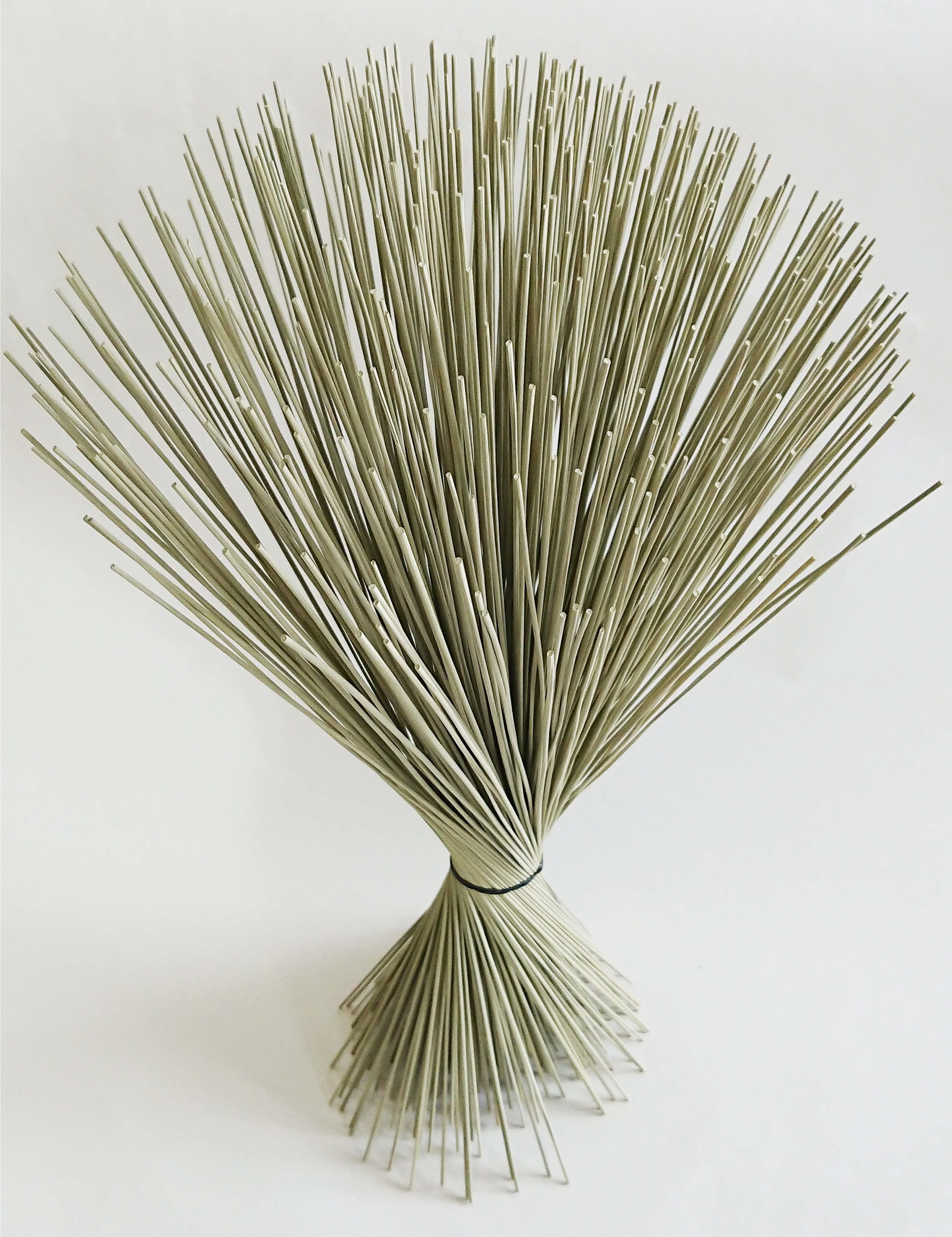【イ草フラワー 生成】Rush Grass Flower Kinari 35cm