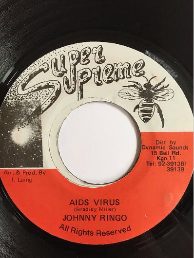 Johnny Ringo(ジョニーリンゴ) – Aids Virus【7inch】