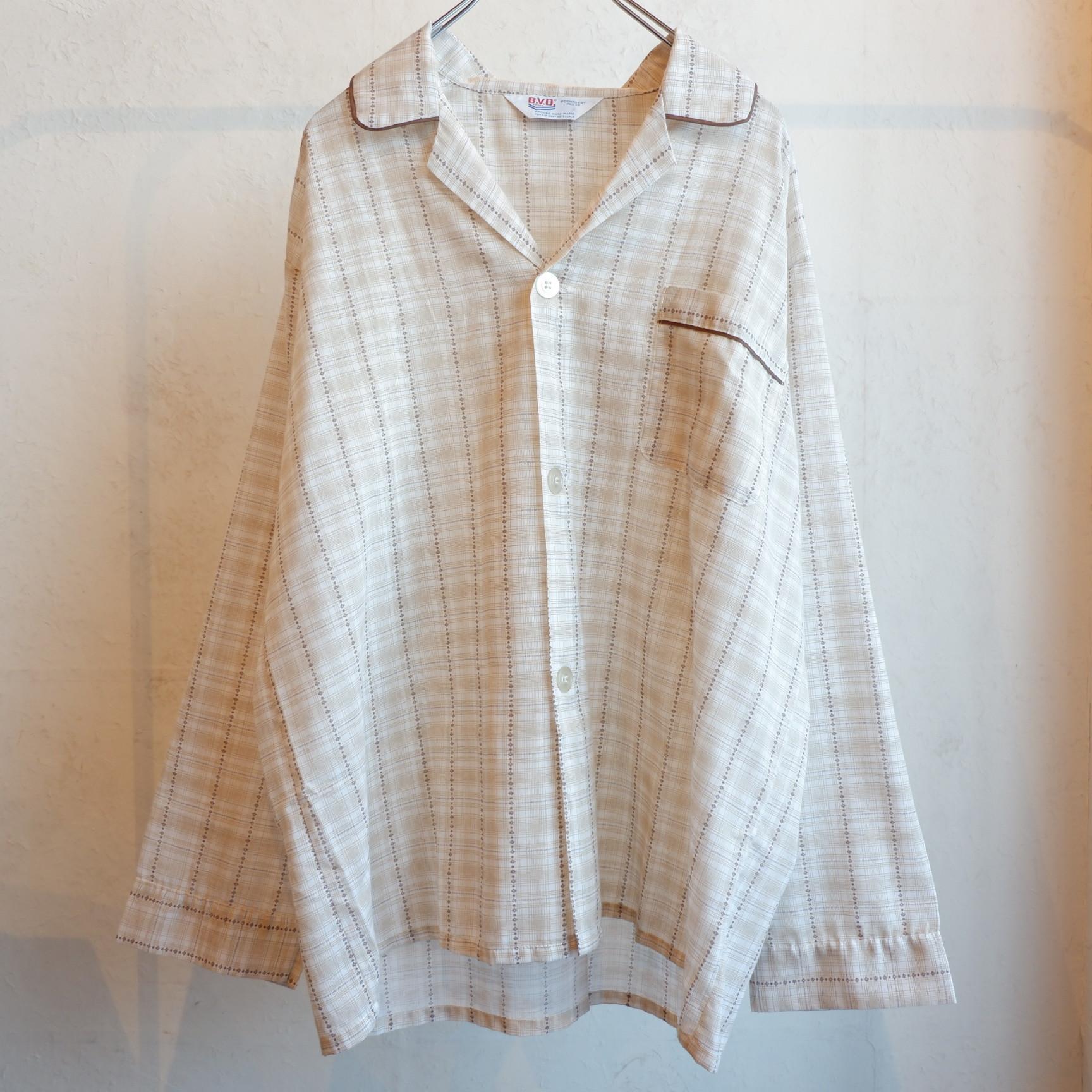 アメリカ古着 70s vintage B.V.D. パジャマシャツ