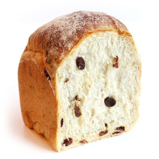 グレインミルク食パン・レーズン