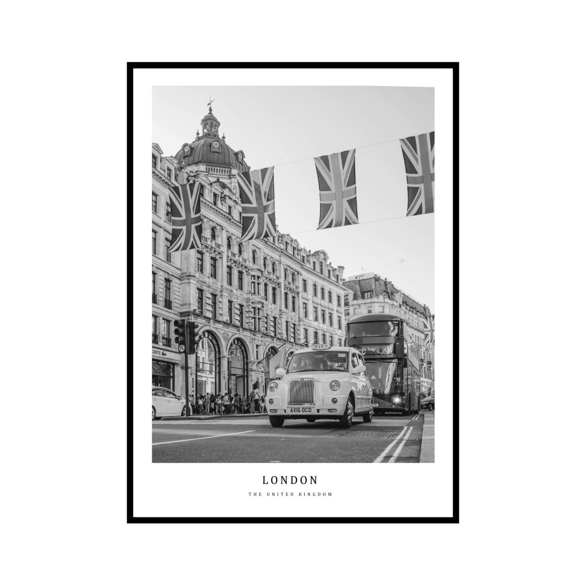 """LONDON"" UK - POSTER [SD-000600] A4サイズ ポスター単品"