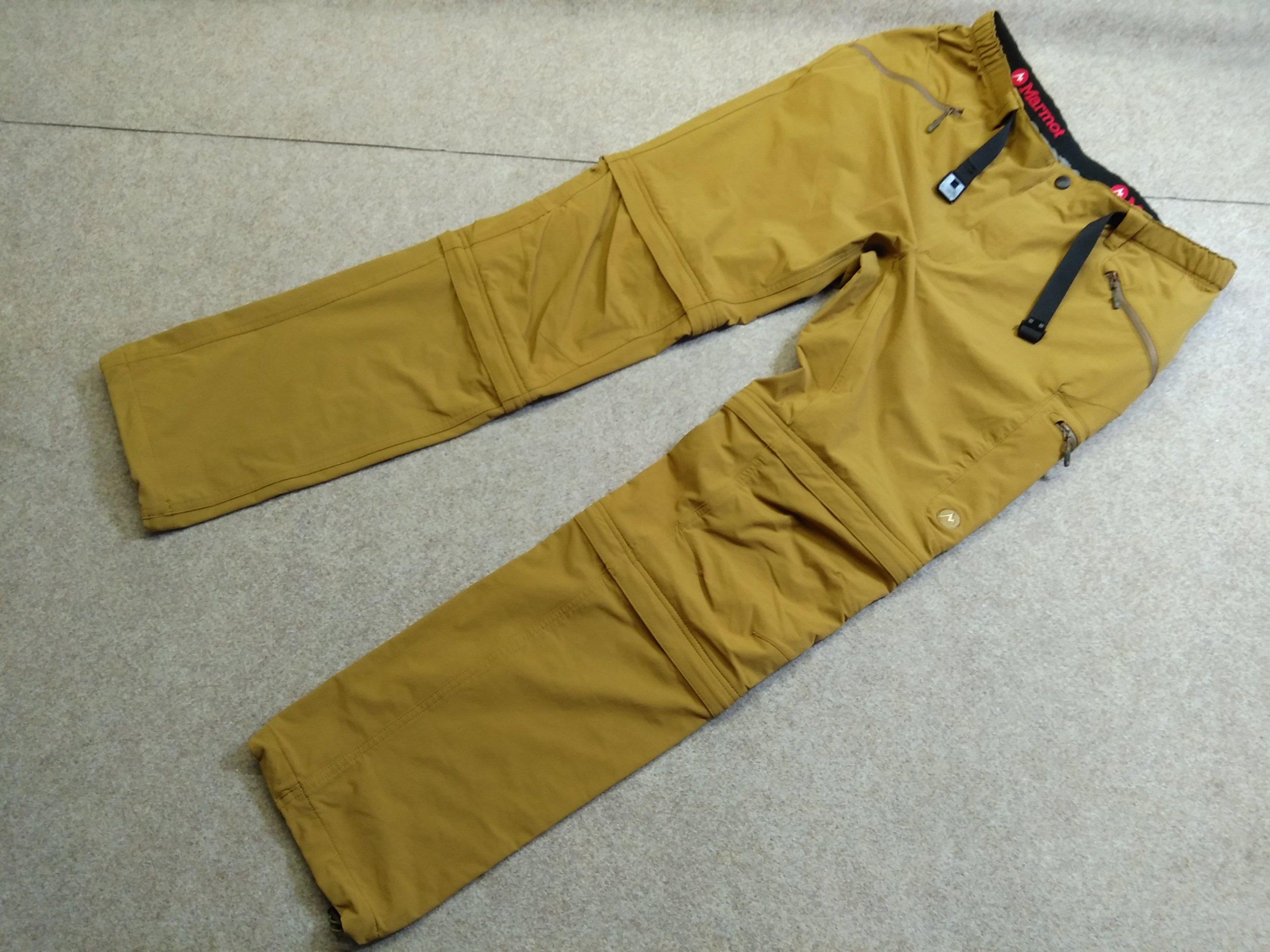 マーモット Marmot 3way パンツ XXL 薄茶 u1254a