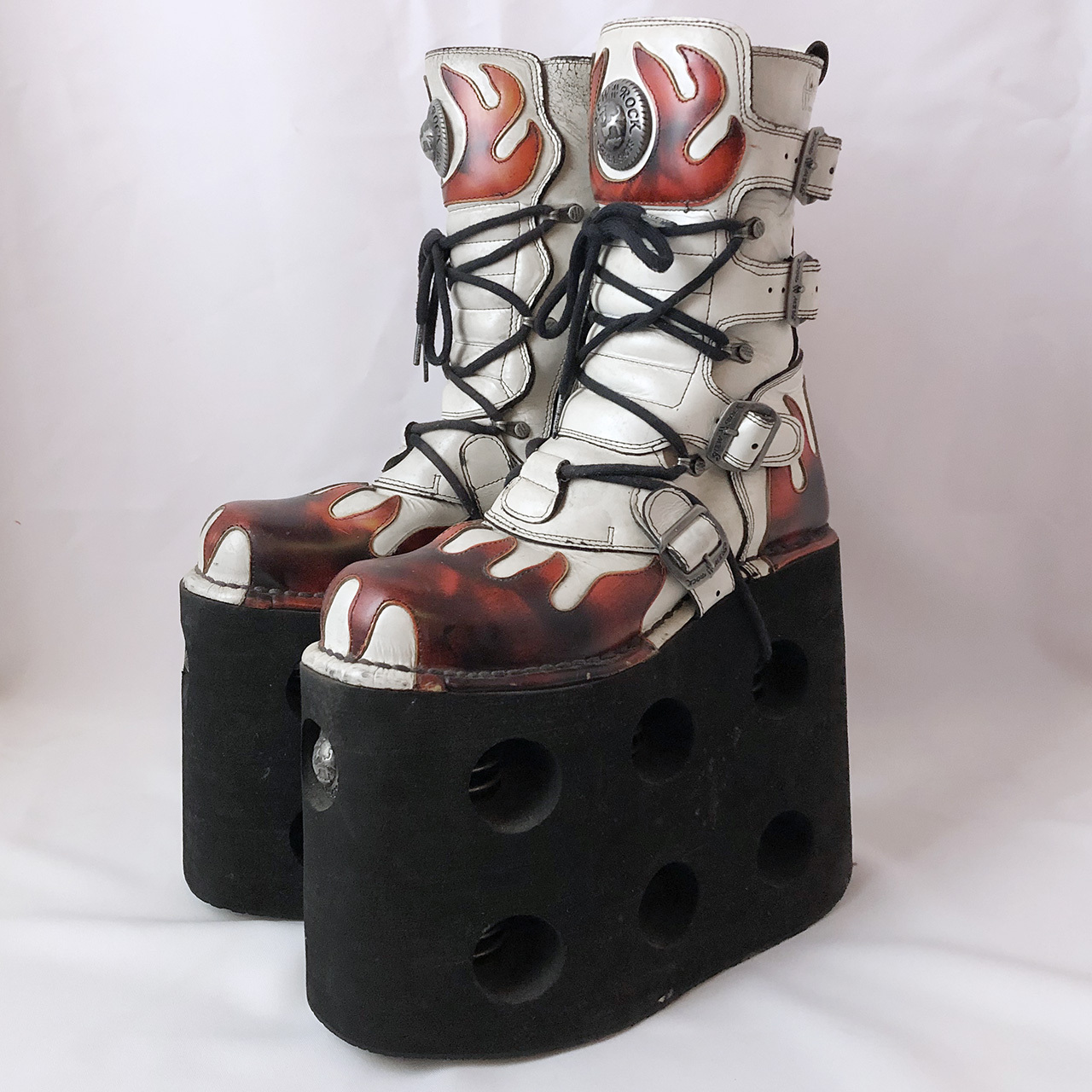 NEW ROCK 厚底ブーツ