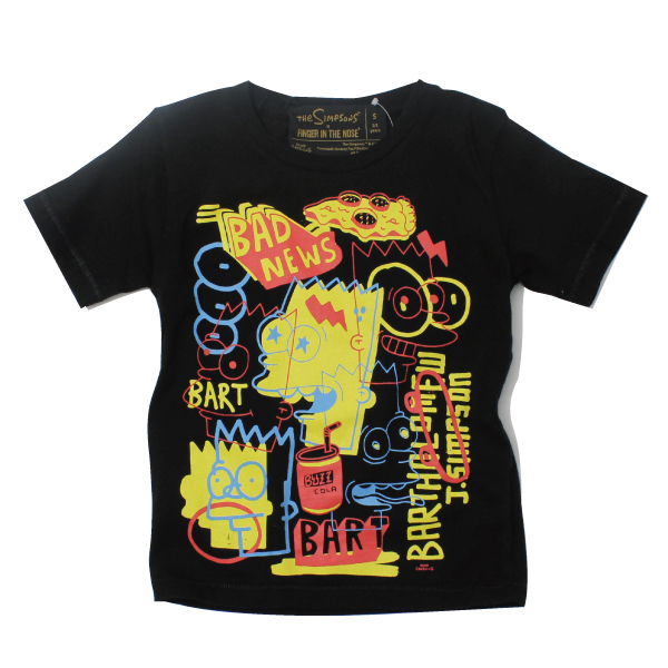 Finger in the nose the Simpsons Tshirt ( S,M,L )