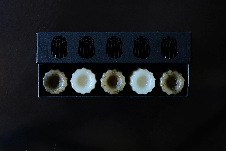 カヌレ羊羹 [ 桜 × 大吟醸酒粕 ]
