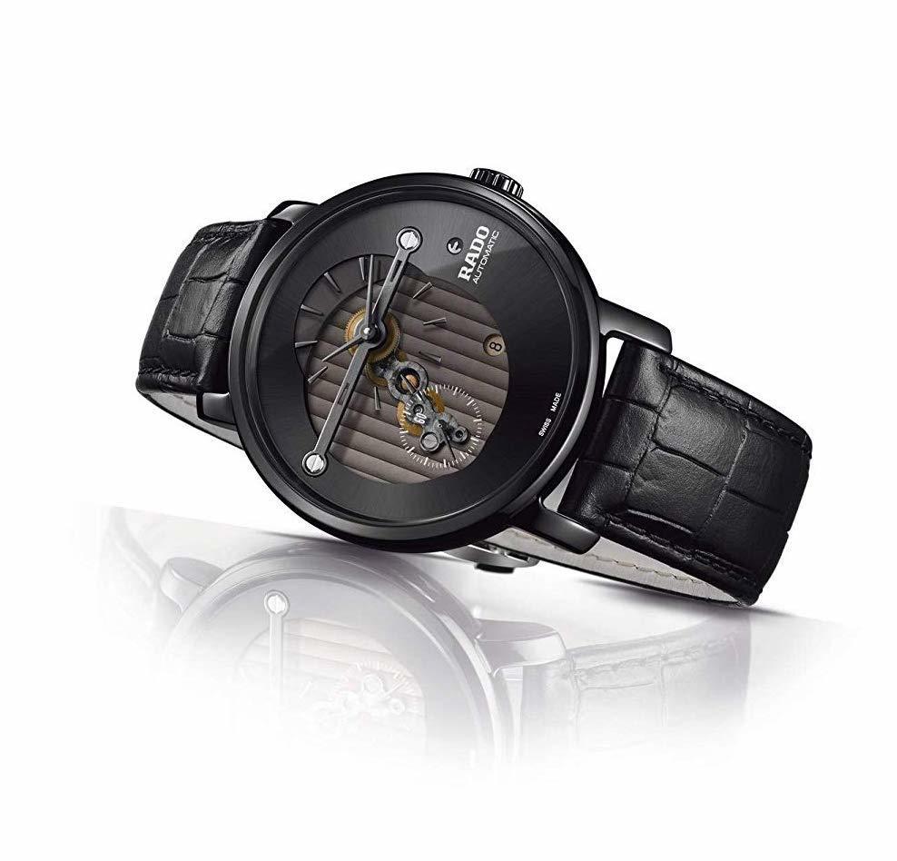 【RADO ラドー】DiaMaster Automatic Highline ダイヤマスター ハイライン(ブラック)/正規輸入品