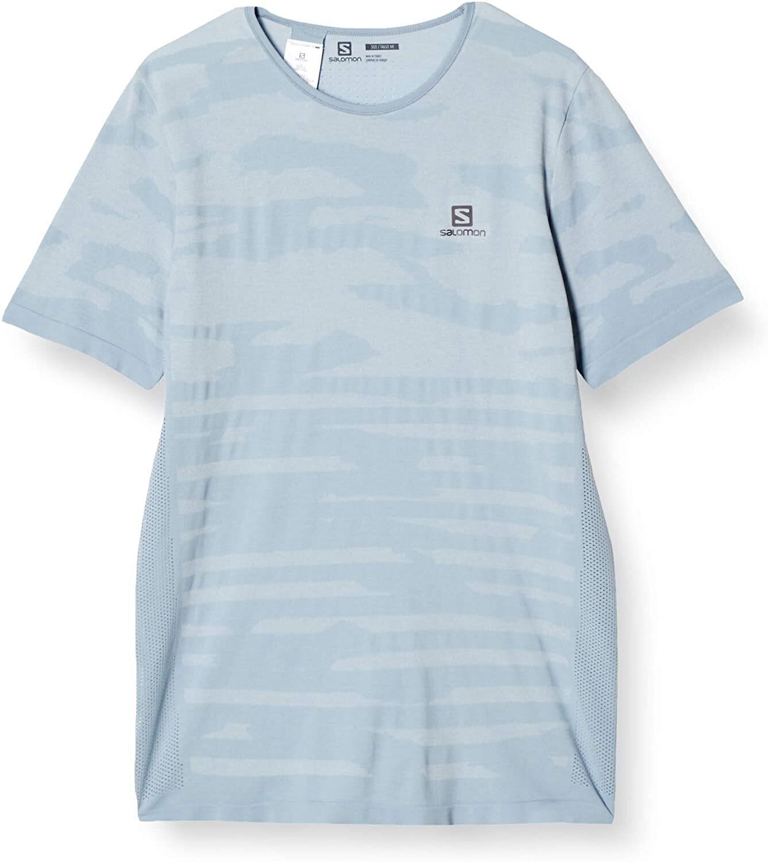 Salomon サロモン XA CAMO TEE ASHLEY BLUE/Heather メンズ XAカモ柄Tシャツ アシュリーブルー/ヘザー LC1497300【Tシャツ】