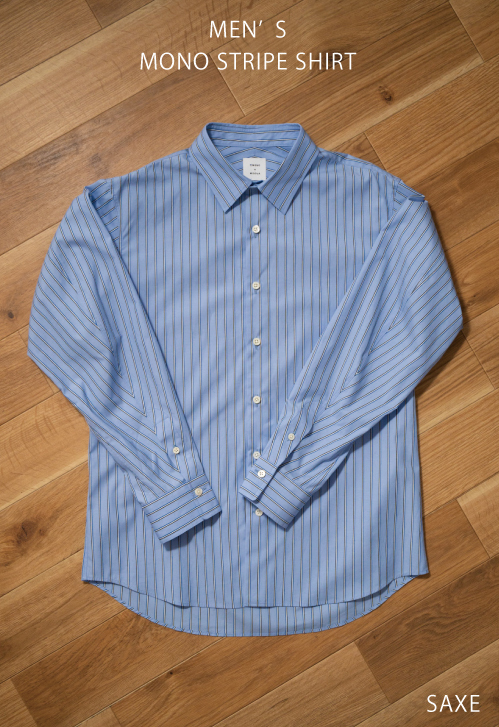 【MONO×MIDDLA】MEN'S MONO STRIPE SHIRT