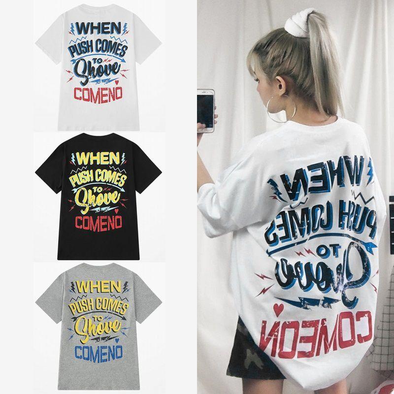ユニセックス 半袖 Tシャツ メンズ レディース 英字 バックプリント オーバーサイズ 大きいサイズ ルーズ ストリート