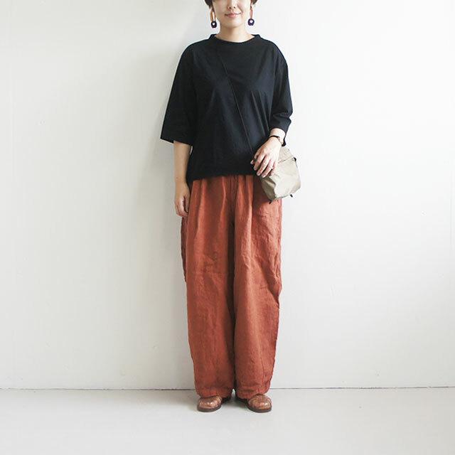 Commencement コメンスメント 7分袖ワイドTシャツ (品番c-078)