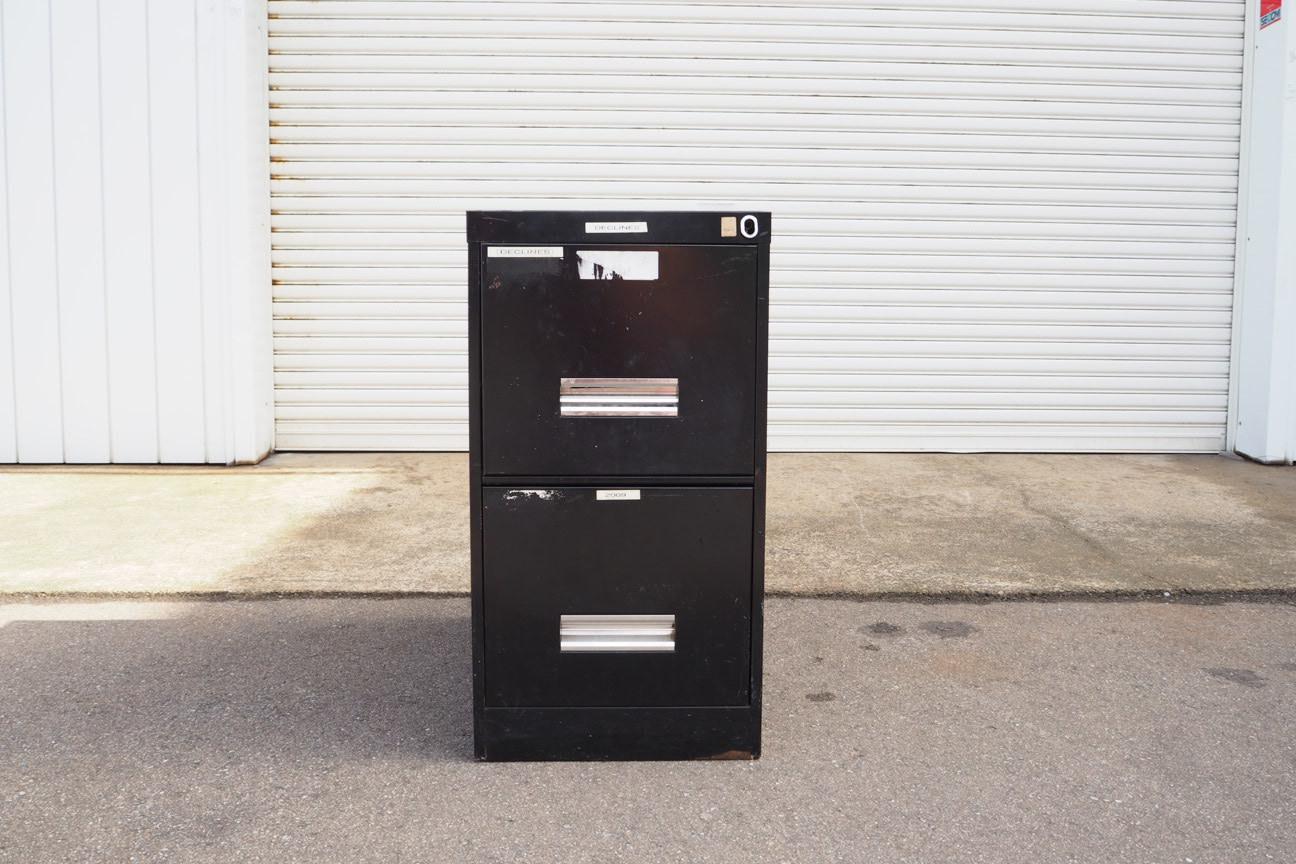 品番0093 アメリカンキャビネット ブラック S