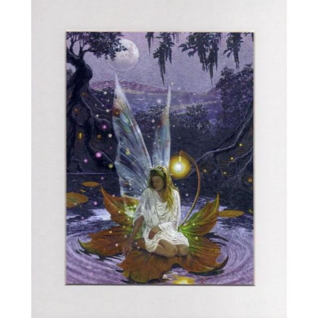 【アルミ彫刻画】妖精の女王[a291]