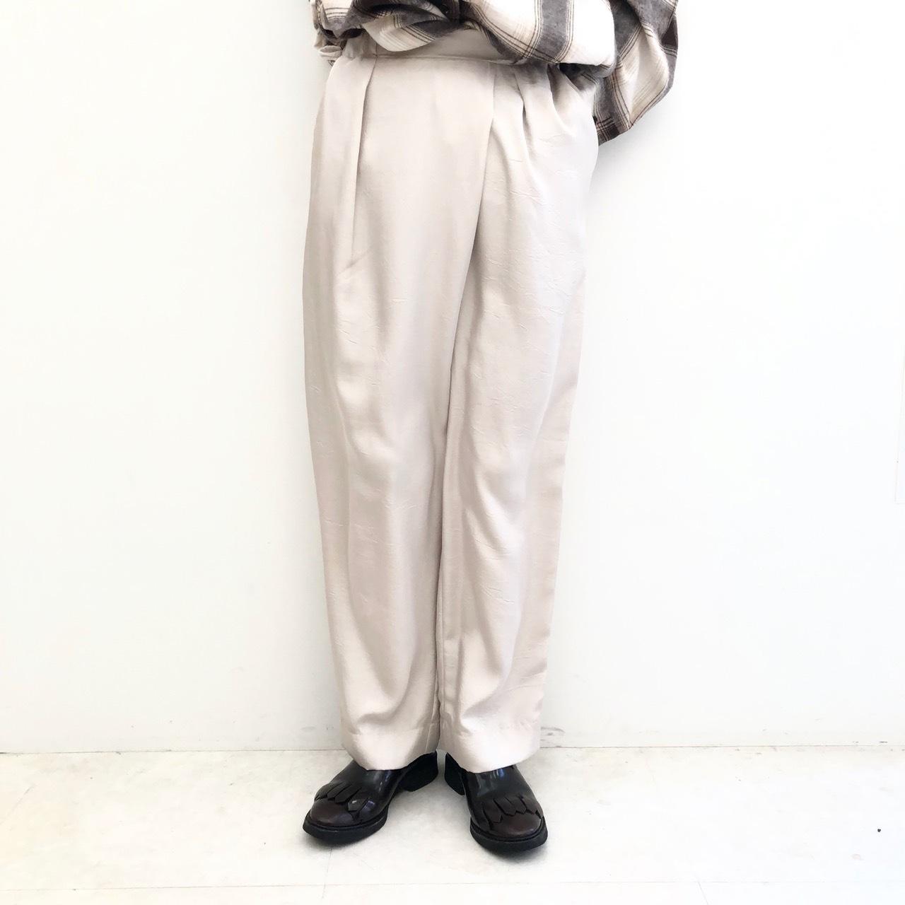 【 CHIGNONSTAR 】- 3692-448 - ワッシャーラップパンツ