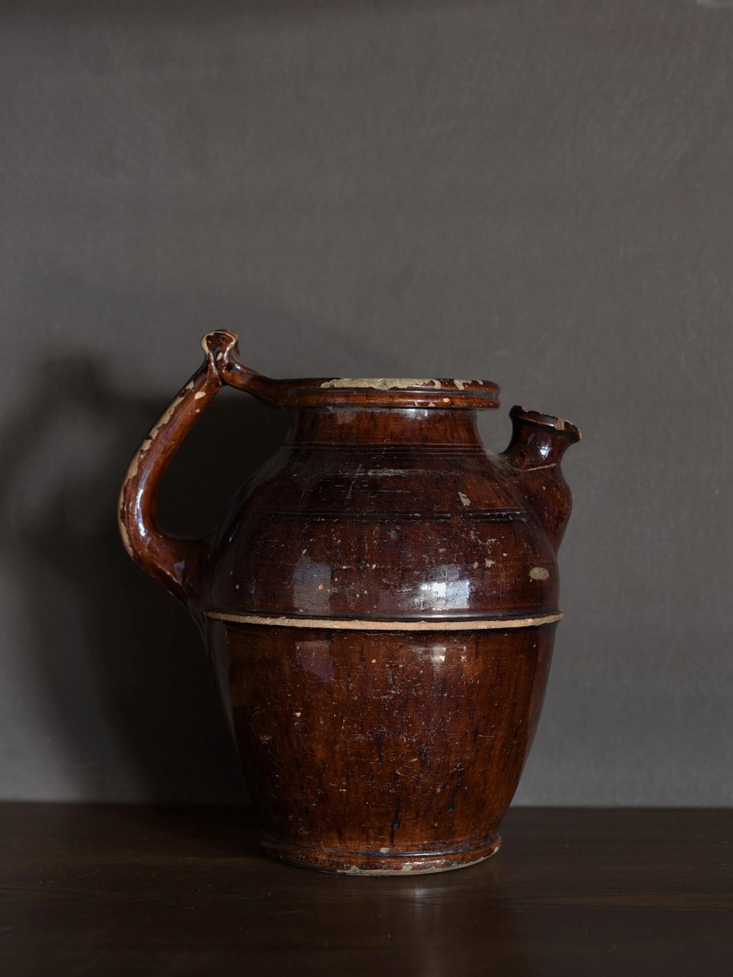 antique | 持ち手ピッチャー-handle pitcher