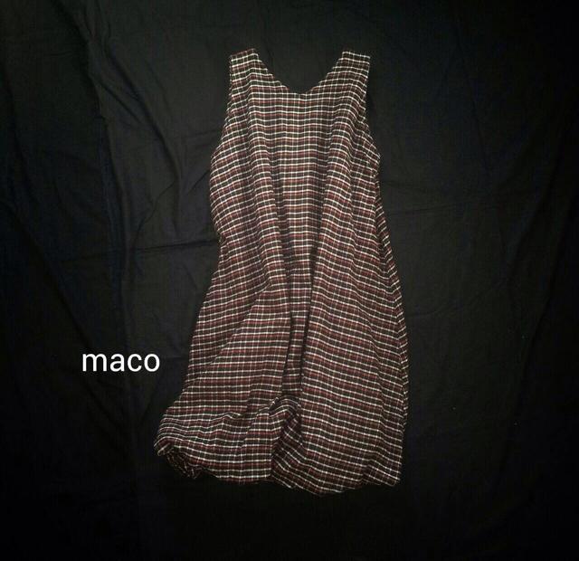 【maco】バルーンワンピース