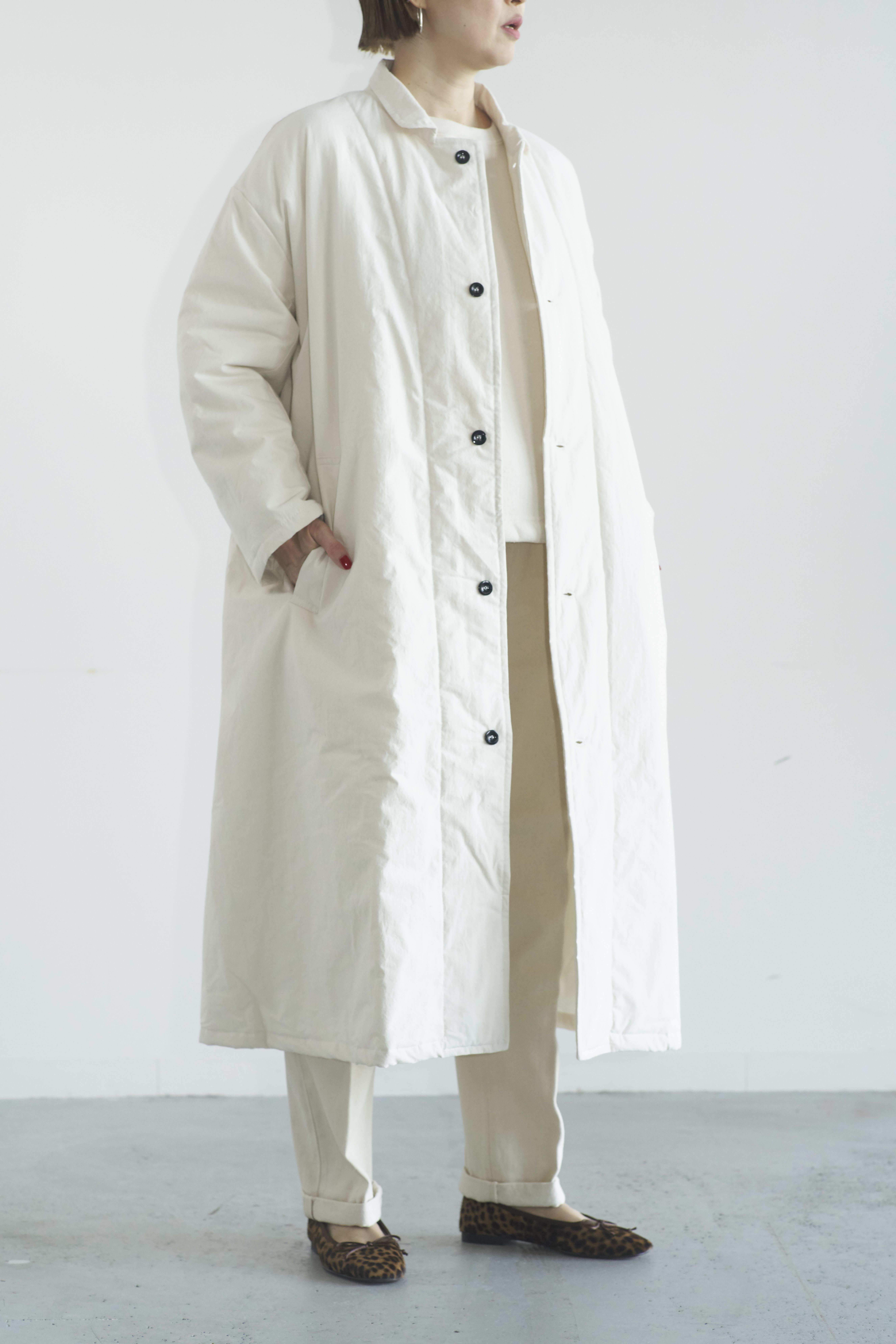 Yarmo Quilting Lab Coat