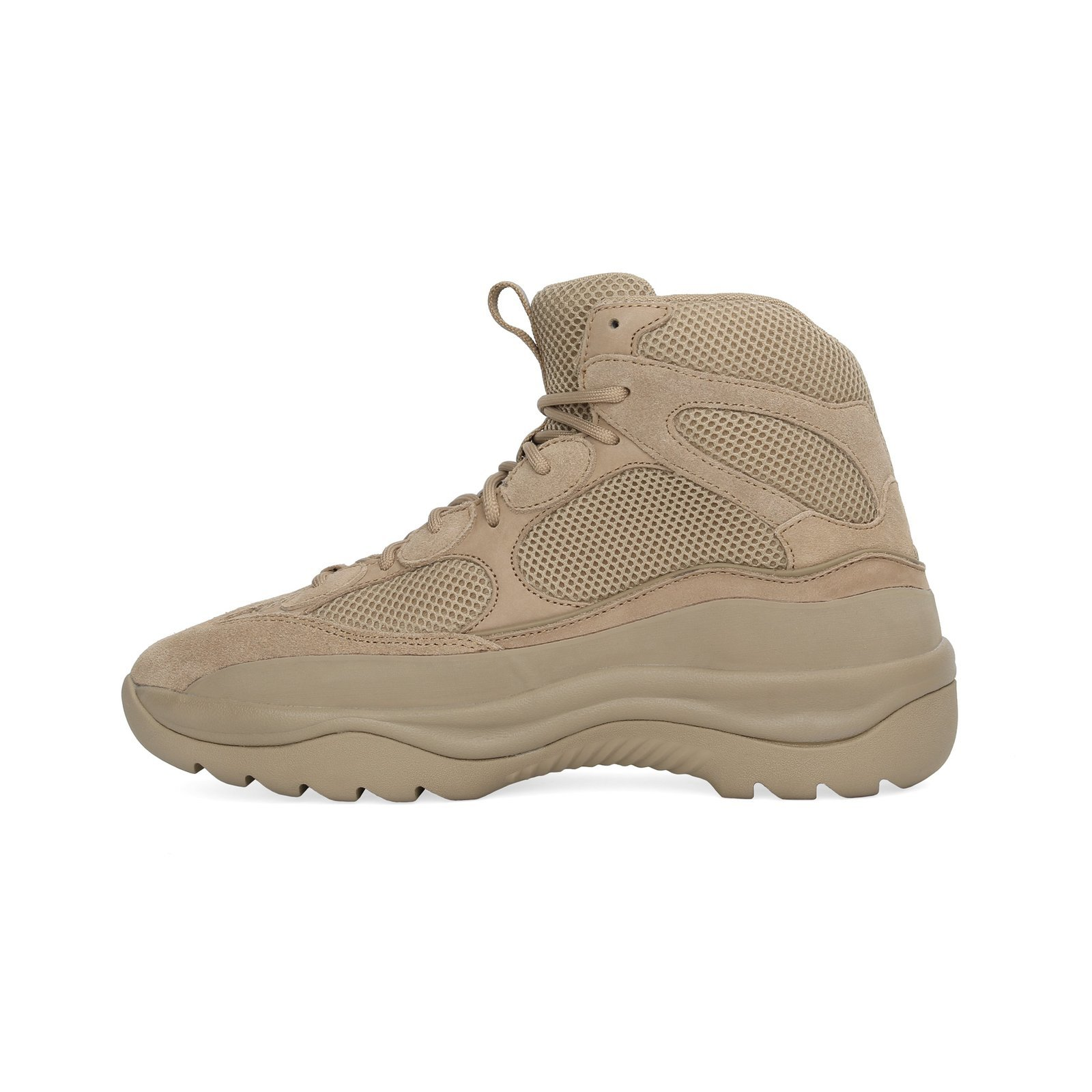 YEEZY SEASON 6 Suede Desert Boots TAUPE