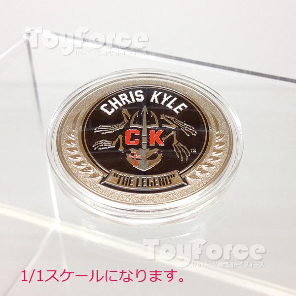 【02421】 1/1 E&S クリス・カイル ザ・レジェンド チャレンジコイン