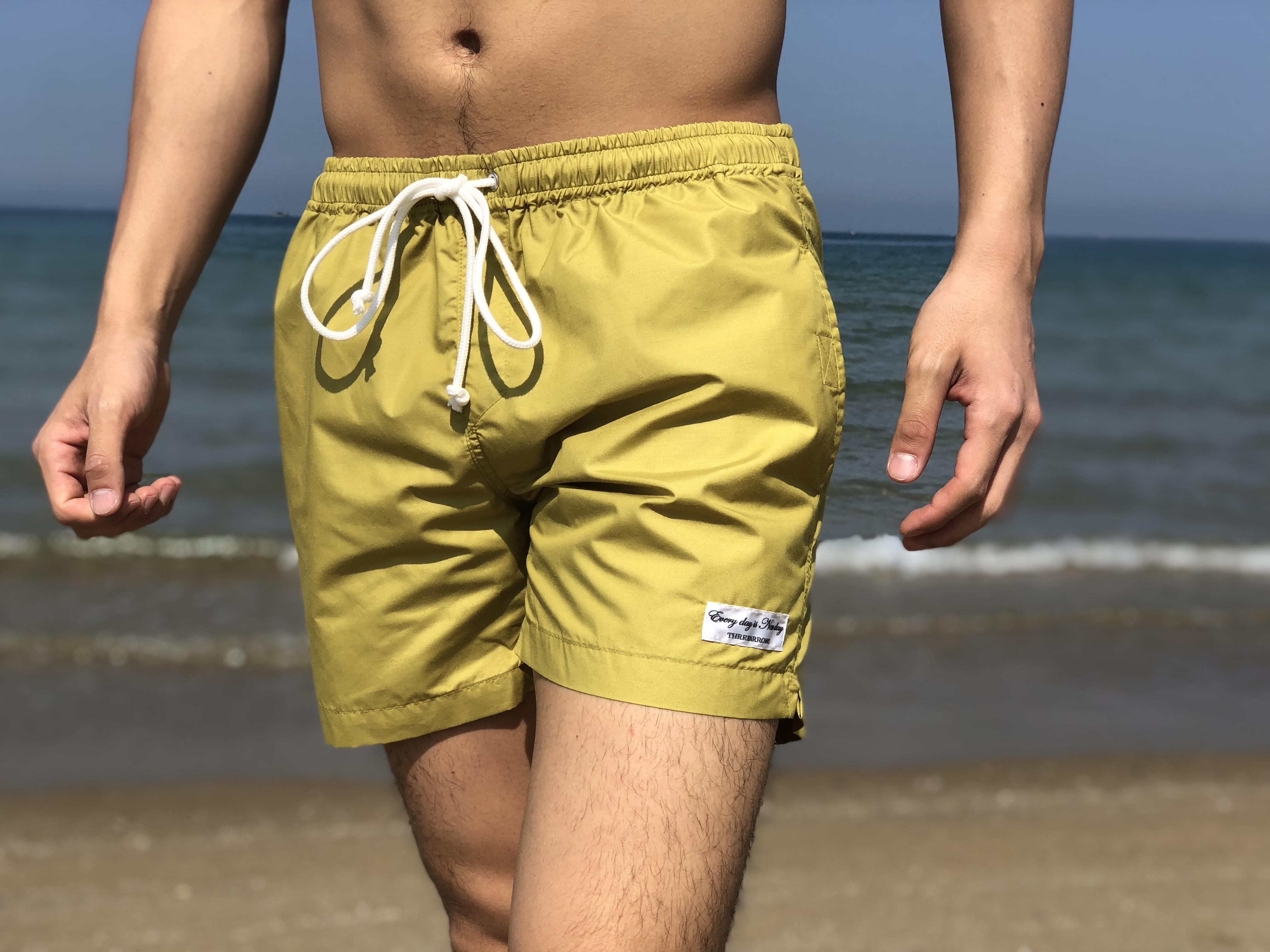 【SUMMER SALE】THREEARROWS Board Shorts(mustard)