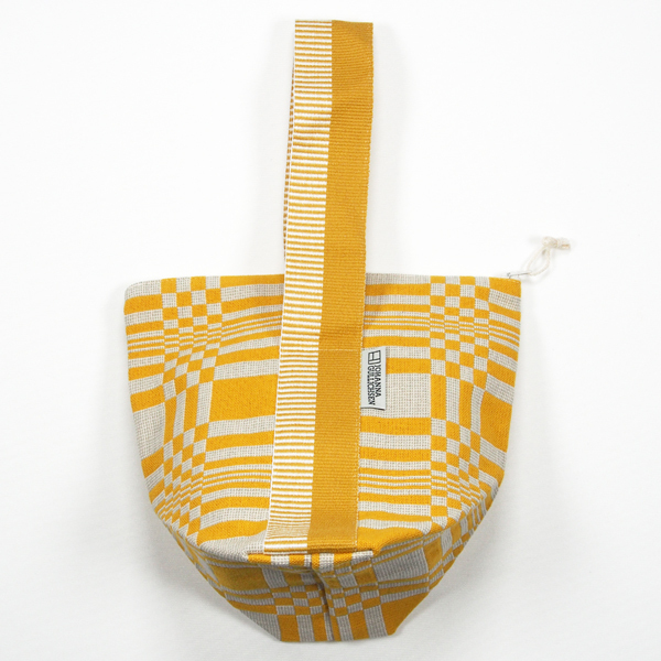 JOHANNA GULLICHSEN Tetra Handbag Doris Yellow