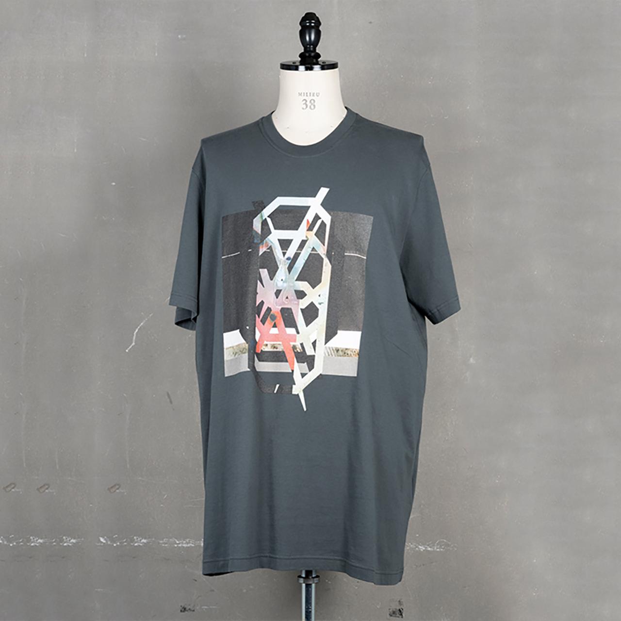 [ 2021 春夏 予約商品 ] 740CPM3-COLD GRAY / NILøS プリント Tシャツ ver.3 / 1月入荷予定