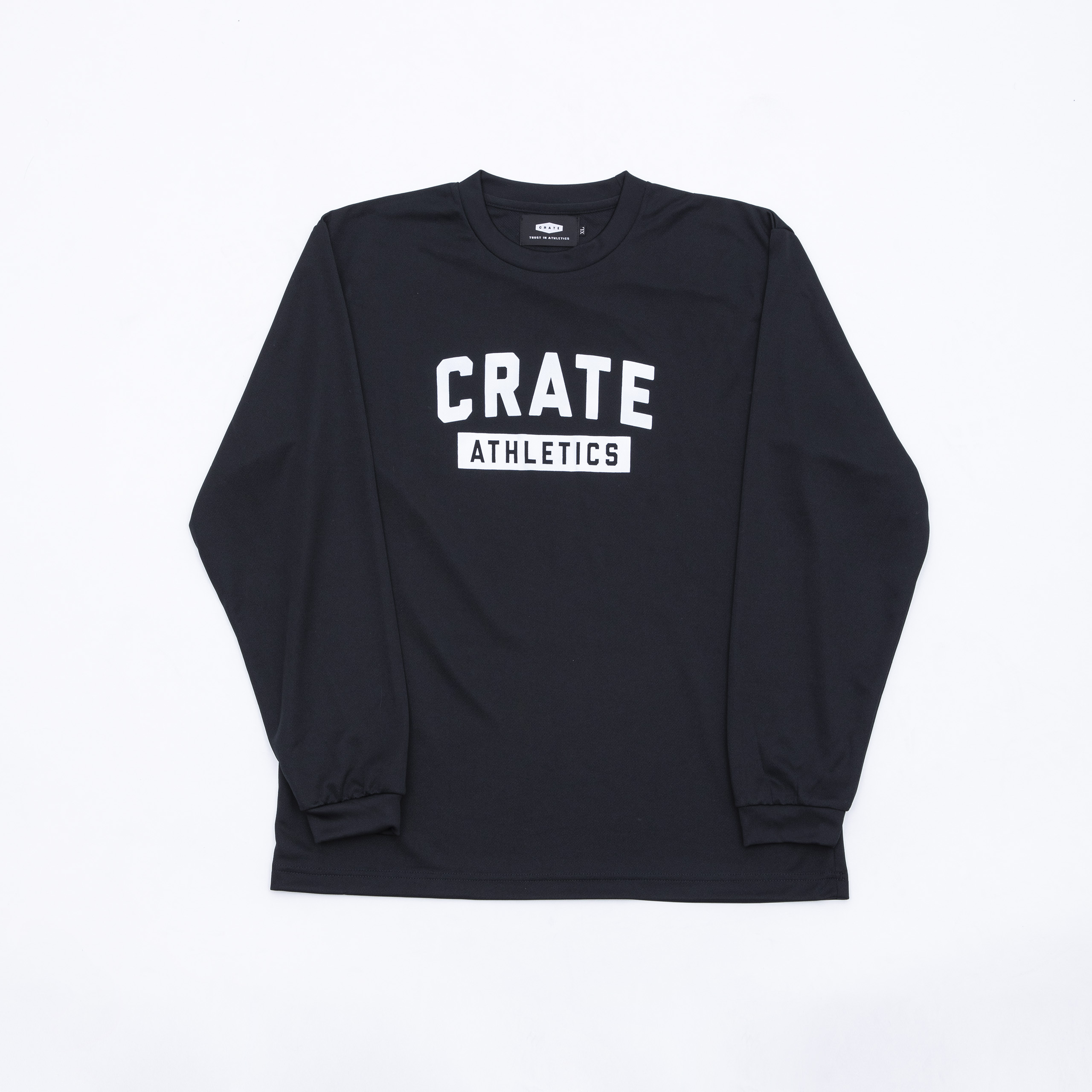 Crate Athletics Mesh L/S Tshirt Black