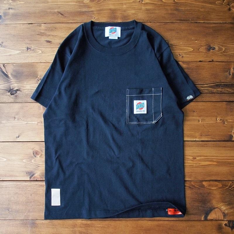 【DARGO】Working Pocket T-shirt (BLACK)