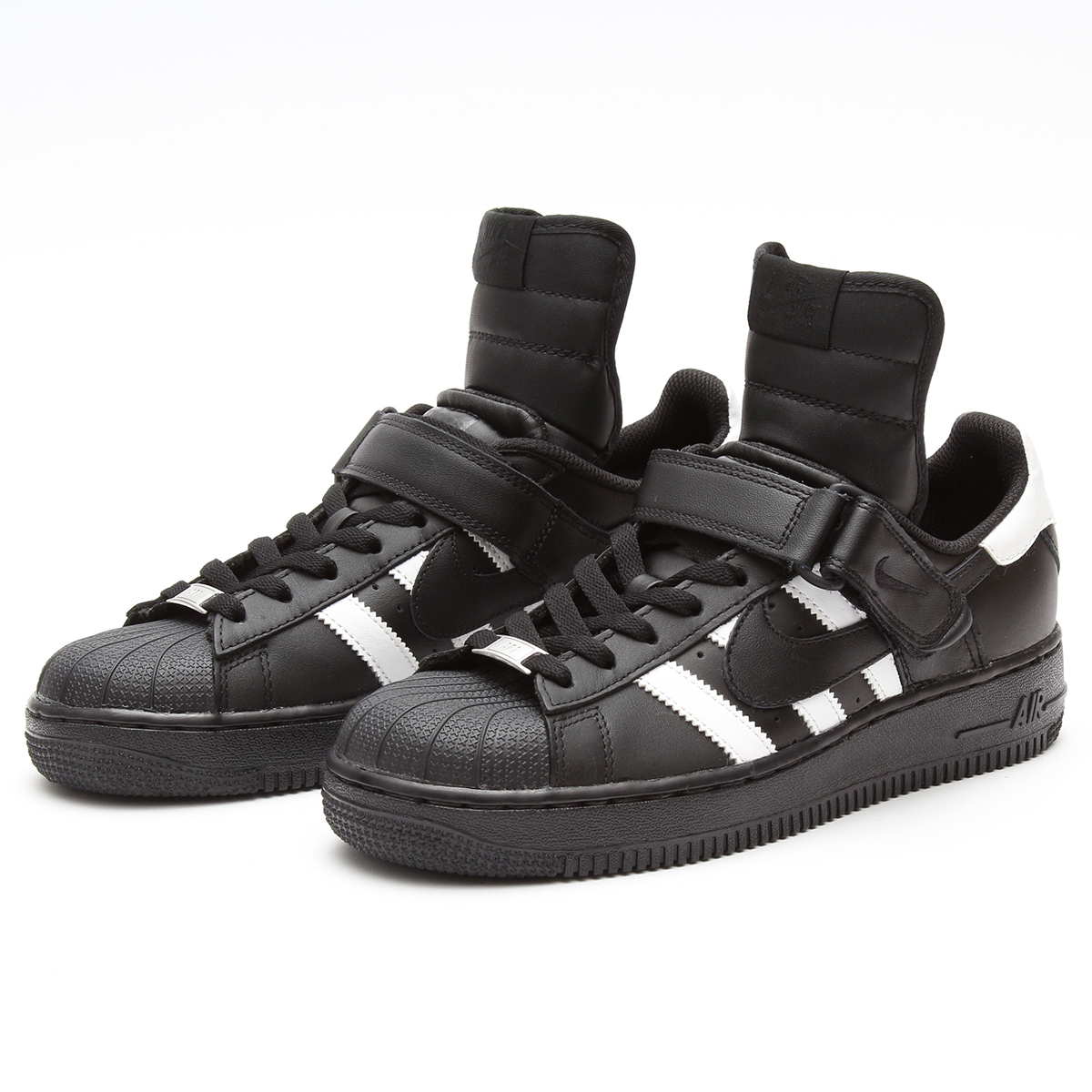 Superstar 1 Incorporation Code Sneakers Air Mid nike Force Adidas × tQdhrxCs