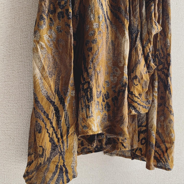 vintage design leopard onepiece
