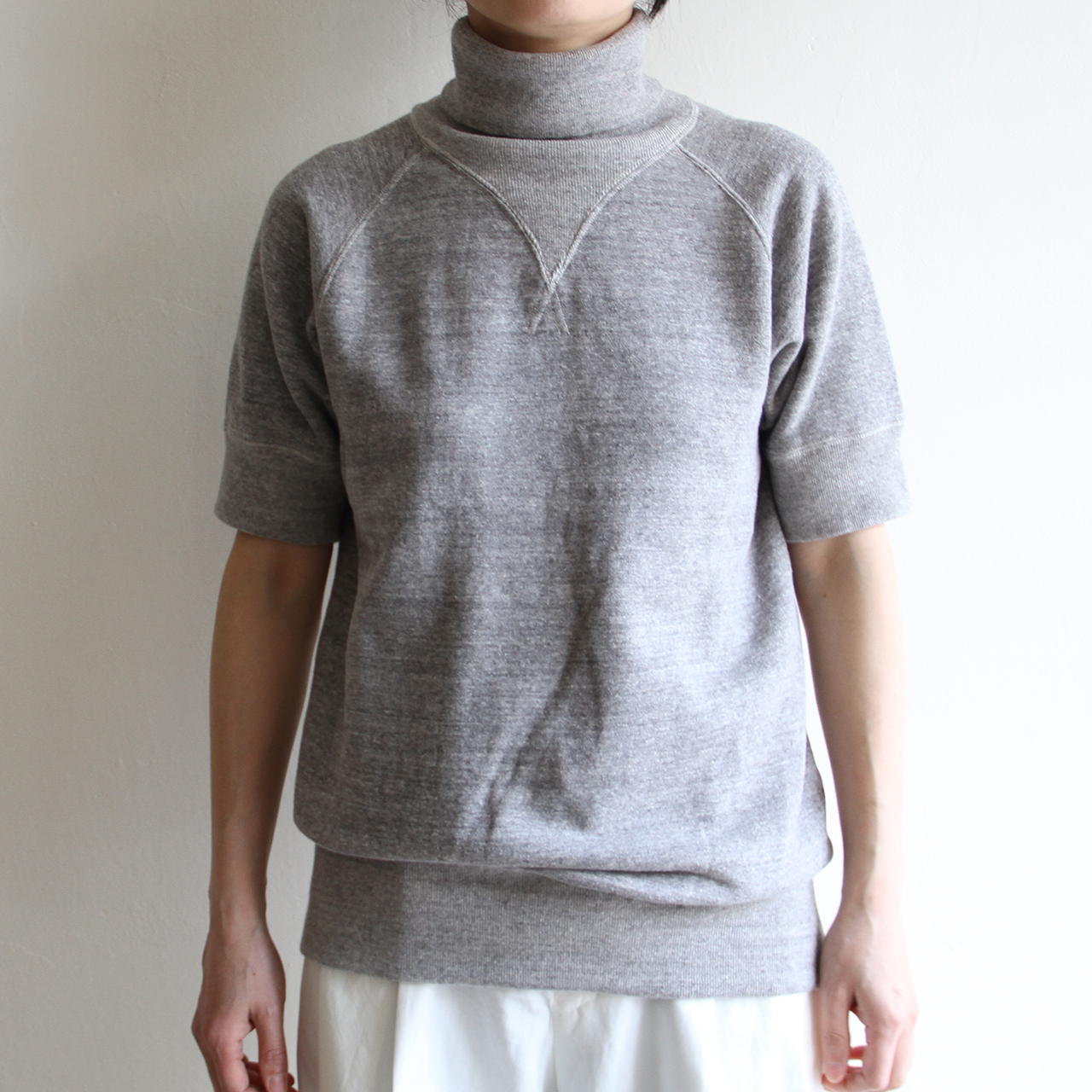 JUN MIKAMI 【 womens 】short sleeve sweat