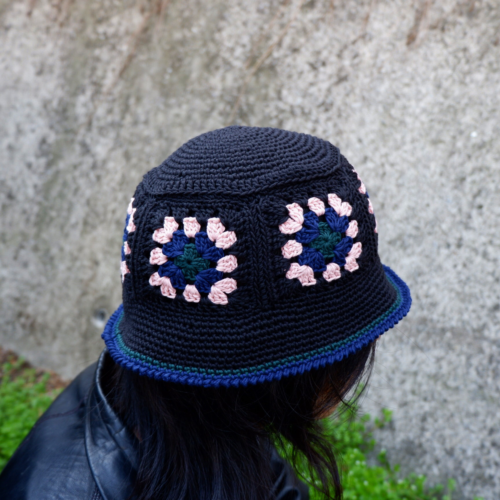 【Antage】Handmade Crochet Hat   D