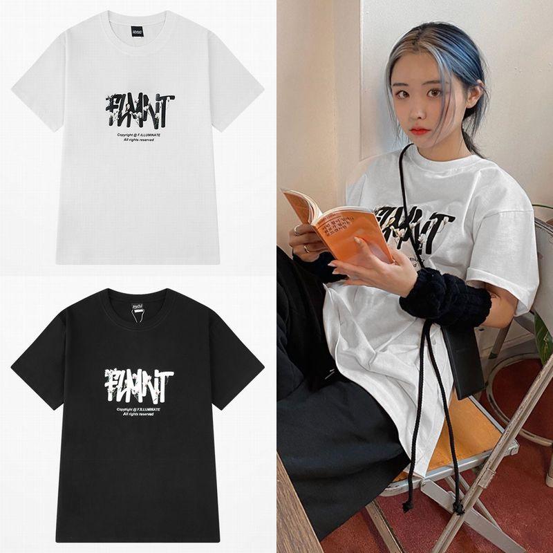 ユニセックス Tシャツ 半袖 メンズ レディース 英字 花 フラワー プリント オーバーサイズ 大きいサイズ ルーズ ストリート