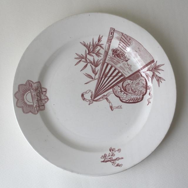 NIMY dinner plate・b /uv0005
