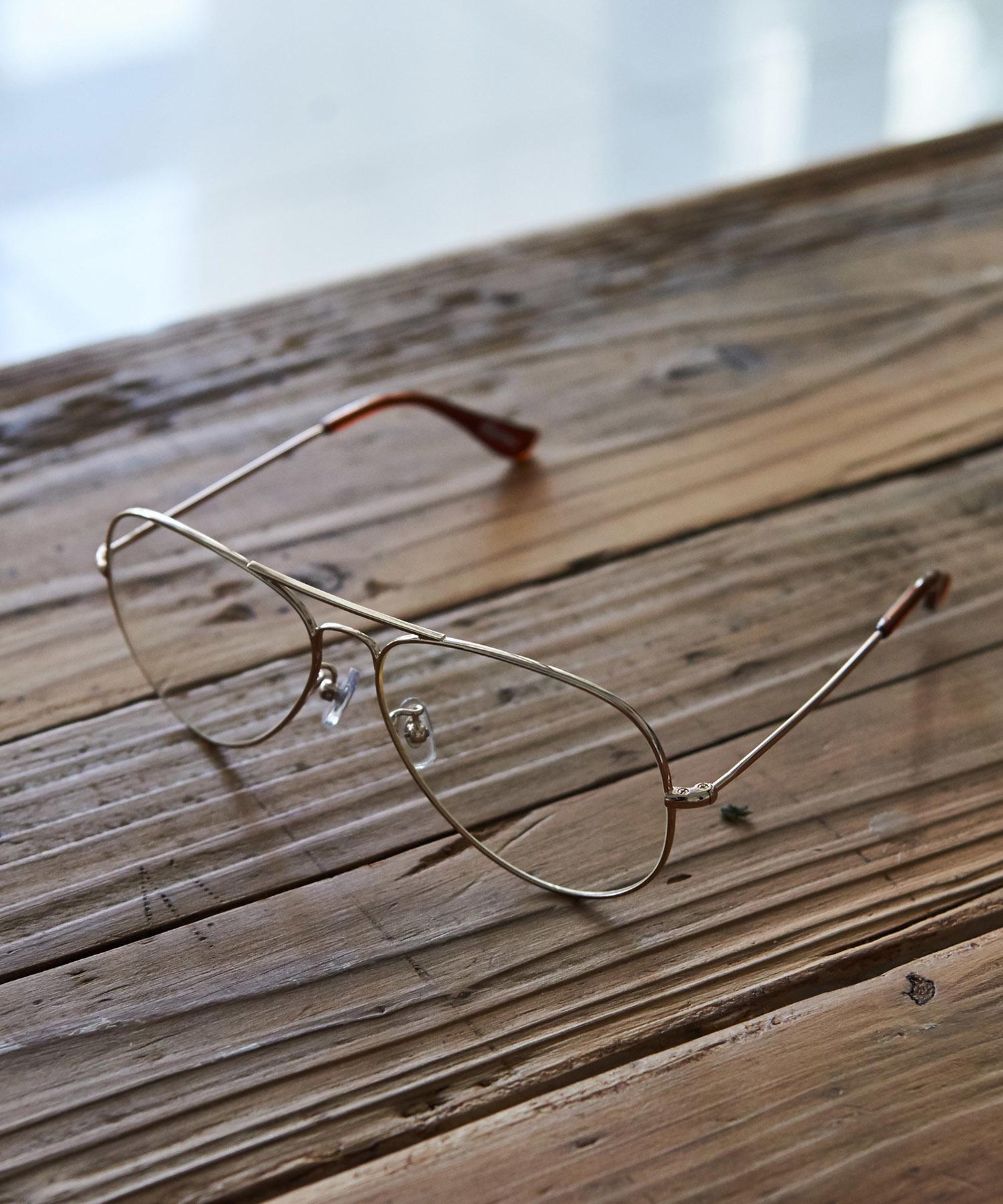 TEARDROP CLEAR GLASSES[REA084]