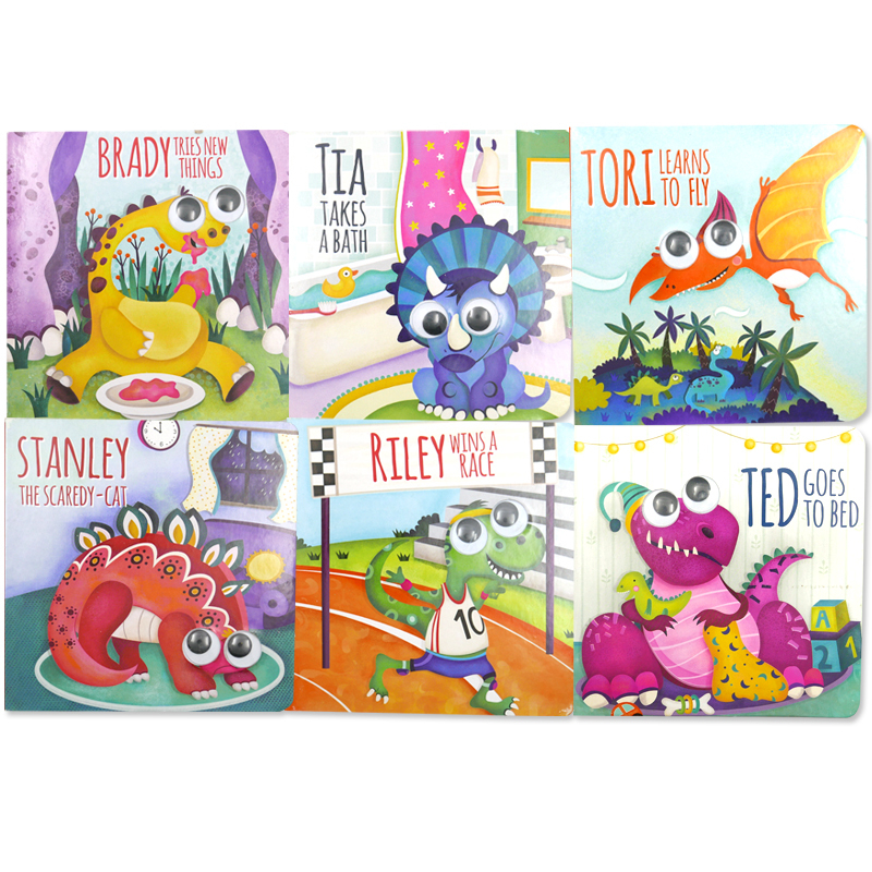 「恐竜親子のボードブック」6冊セット