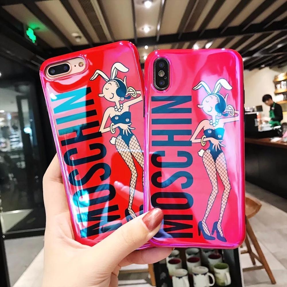 バニー レッド iPhone case