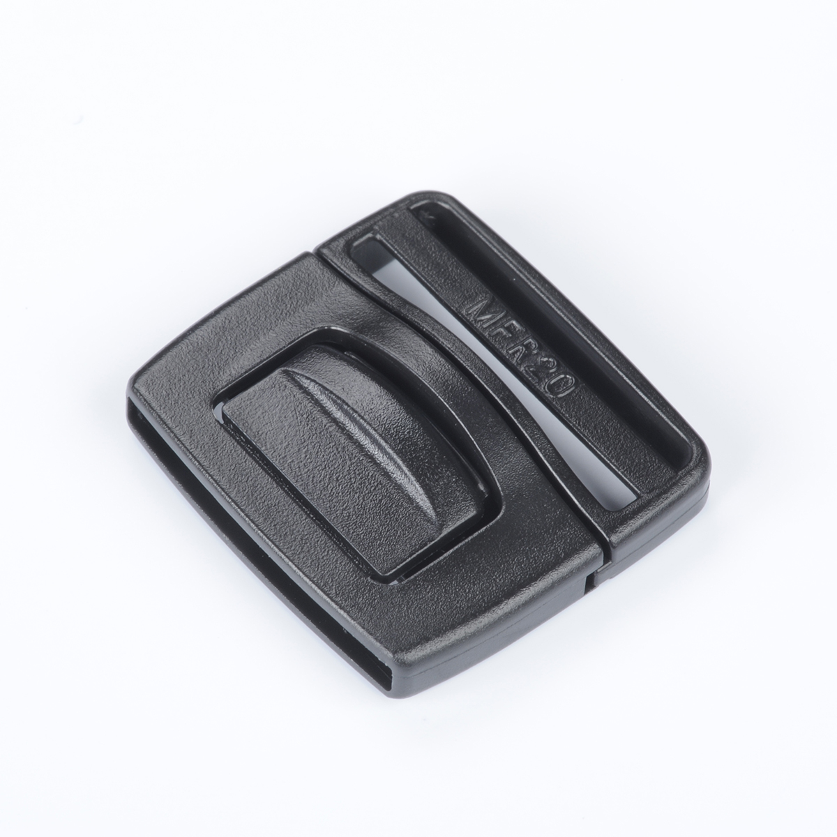 nifco プラスチック フロントリリースバックル 黒 MFR10 1個
