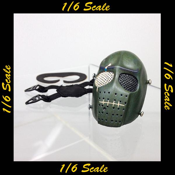 【01607】 1/6 Loading Toys ホッケーマスク 緑