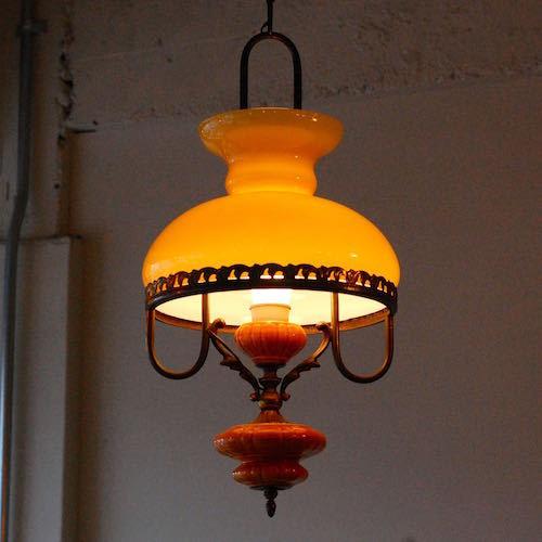 Vintage Italian Ceiling Lamp