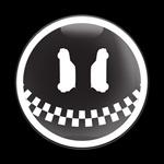 ゴーバッジ(ドーム)(CD0350 - MINI FACE 2) - 画像1