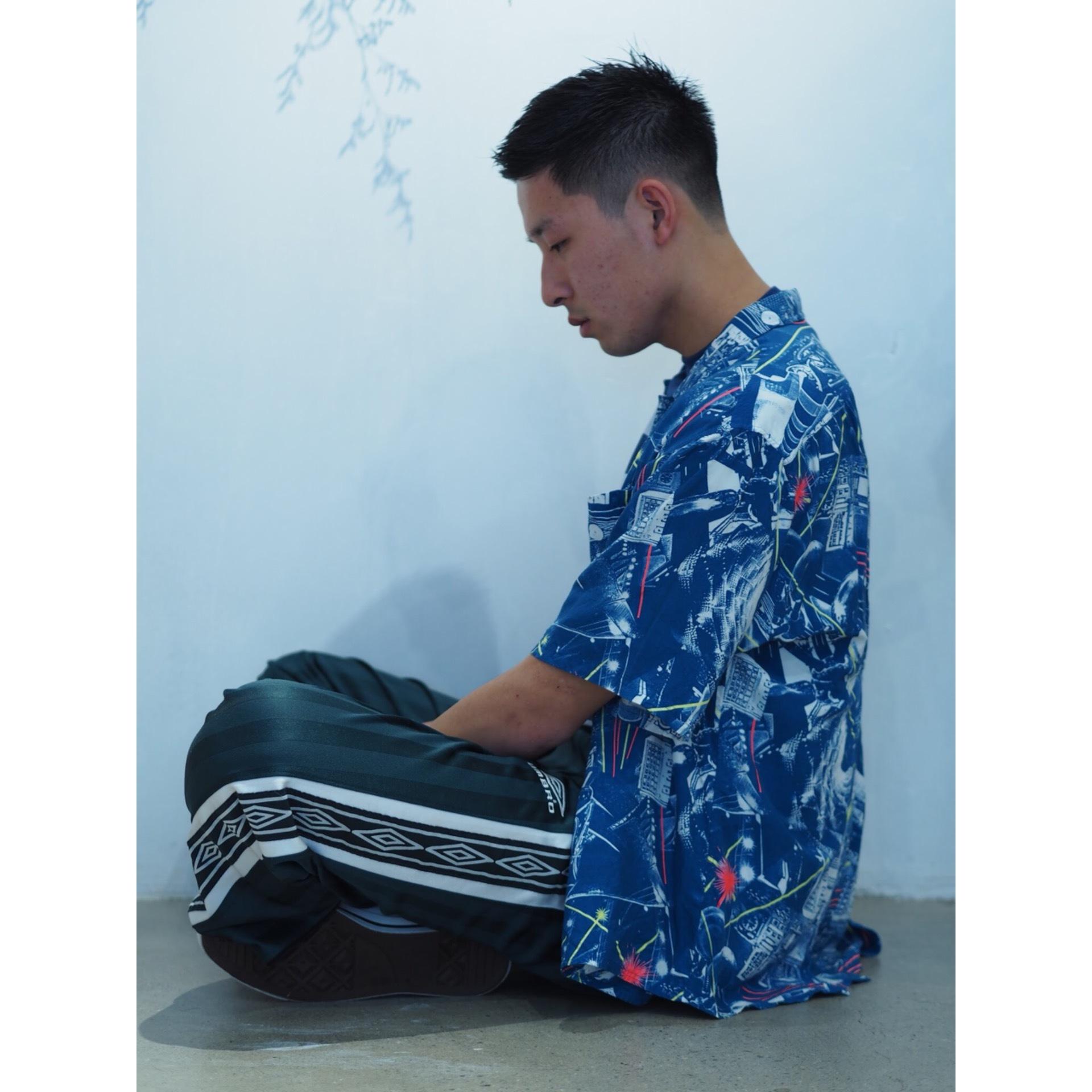 Vintage rayon pattern shirt